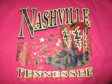 "Vintage Jerzees Label - Nashville - Tennessee ""Music City U.S.A."" (Xl) T-Shirt"
