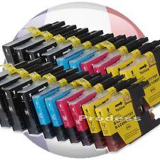 Cartouches d'encre compatible LC1280XL imprimante Brother MFC J625 DW J6510 DW