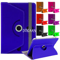 "Flip 360 Rotate For Alcatel Pixi 4 (7""inch) Tablet Leather Case Cover Smart Book"