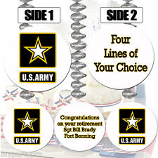 US ARMY CUSTOM HANGING DECORATIONS Party Supplies FREE SHIPPING NEW