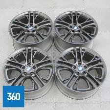 "Genuine BMW 20"" X3 X4 310 M Deporte Doble habló férrico Gris Llantas De Aleación F25 F26"