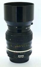 Nikon Nikkor Ai 105mm 1:2.5 obiettivo da ritratto messa fuoco manuale