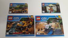 LEGO CITY !! INSTRUCTIONS ONLY !! FOR 60161 JUNGLE EXPLORATION SITE