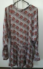 BRAND NEW ZARA PRINTED PLAYSUIT SZ S RRP $89 CURRENT