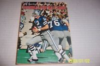 1972 NFL Football Guide DALLAS Cowboys ROGER STAUBACH 400 Pages Bob GRIESE