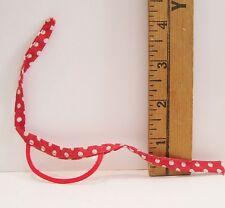 Vintage Mattel Barbie And Ken Doll Best Buy Red White Polka Dot Visor Hat