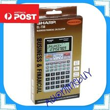 *AUSTRALIAN STOCK* BRAND NEW  - Sharp EL-738 (EL738) , Financial Calculator