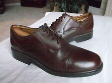 Bass Flex - Pickett Men's Shoes Brown Leather Cap Toe Oxfords 10.5M