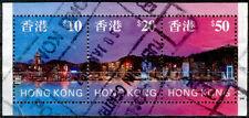 Hongkong 1997, Marken aus Block 47 (Michel-Nr. 802/04) bedarfsgestempelt