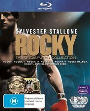 Rocky - The Undisputed Collection (Blu-ray, 2009, 7-Disc Set) BRAND NEW & SEALED