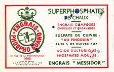 Buvard    Engrais Messidor   Phospho Guano