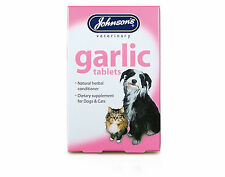 Johnsons Garlic Tablets For Cats And Dogs