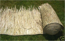 """SALE 3-30""""x8' Comm grade Mexican Palapa Palm Thatch Roll"""