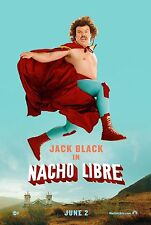 NACHO LIBRE (2006) ORIGINAL ADVANCE A MOVIE POSTER  -  ROLLED  -  DOUBLE-SIDED