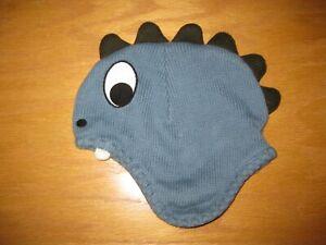 EUC Gymboree Dinosaur Tracker 2T-3T Blue Dinosaur Hat
