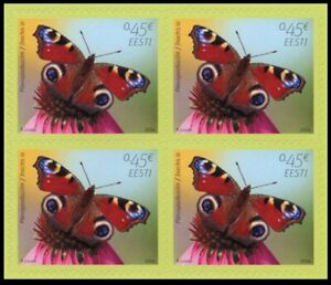 Stamp of ESTONIA 2014 - The European Peacock butterfly / 570-02.05.14