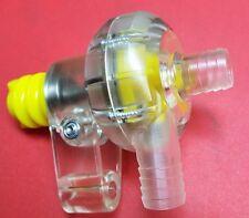 WATER PUMP CLEAR PLASTIC KZ ICC 125 OPEN OTK