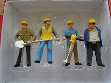 Preiser 63065 Spur I Gleisbauarbeiter 4 Figuren