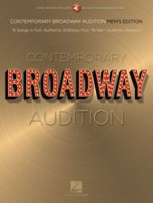 Contemporary Broadway Audition: Men's Edition Book and Online Audio 000250776