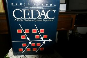 Book CEDAC by Fukuda - Tool for Systematic Improvements