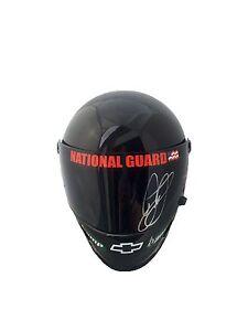 Dale Earnhardt Jr National Guard (Skull) Signed Full Size Helmet Jsa
