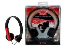 Écouteurs rouge pour Circum-auriculaires (par-dessus l'oreille)