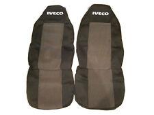 2 x IVECO Sitzbezüge Schonbezüge grau mit schwarz LKW