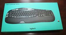 Logitech LG K350 Wireless Wave Ergonomic Keyboard w/Unifying Receiver New Sealed