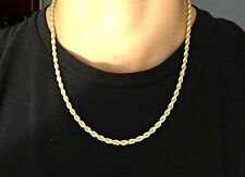 Gold Chain 14k Gold Rope Chain 20in 4mm