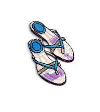 Beach Themed Stamps G21711 WM Left Shoe Flip Flop Sandals Rubber Stamp