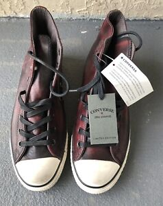 Converse Chuck Taylor - John Varvatos US Size 10.5 Limited Edition Leather.