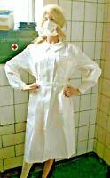 Alte Schwester Schürze Umhang Kittel ungetragen Lazarett Corona Nurse Klinik