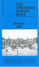 OLD ORDNANCE SURVEY MAP DEVIZES 1899