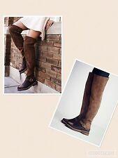 New FREE PEOPLE SZ 37EU BANTER OTK  THIGH HIGH Boots
