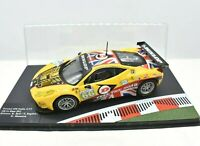 Models Car Ferrari Racing Collection Scale 1/43 diecast 458 Italy GT2 IXO