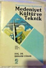 Medeniyet kultur ve teknik in Turkish free shipping from USA,
