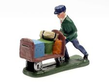 Gepäckkarrenschieber (Replika) Metallguß für Spur 0 # 383