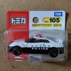 Tomica No.105 Nissan Gt-R Police Car Blister from japan