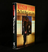 1988 The Truth About Lorin Jones Alison Lurie First Edition Signed