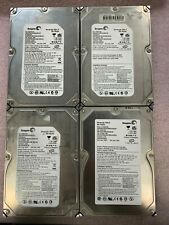 "Lot of 4, Seagate 750GB, 500GB, 500GB, 400GB (IDE) 3.5"" Internal Hard Drives"