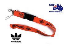 Red Adidas Lanyard Keychain ID Card Holder