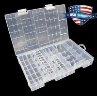 AA AAA C D 9V 18650/14500/26650 Battery Plastic Storage Box/Case/Organizer
