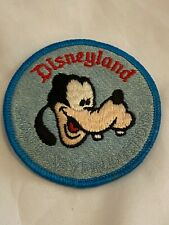Disneyland  Goofy Disney Patch Vintage 1970's  New