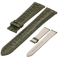 Replacement Vintage Genuine Alligator Crocodile Leather Watch Band Strap 12-26mm