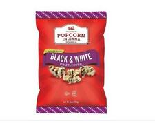 Popcorn Indiana Black and White Drizzle Brand New Free Shipping