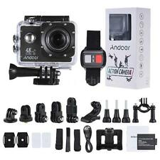 Andoer WiFi 4K ULTRA HD 16MP 4X ZOOM Sport DV Action Camera Video Camcorder W6M3