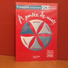 A Portee De Mots; Francais ; Cm1 ; Guide Pedagogique - Lucas ; Leclec'h