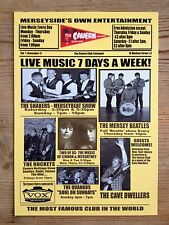 The Cavern Club Liverpool - events flyer