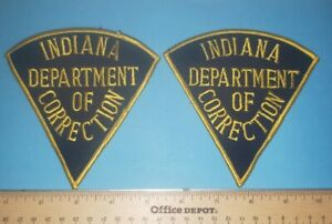 Older Indiana Dept. of Corrections Police Patches