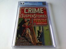 CRIME SUSPENSTORIES 18 CGC 6.5 EC COMICS PRE CODE HORROR KILLER WITH KNIFE CRAIG
